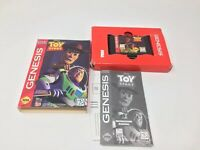 Disney's Toy Story (Sega Genesis, 1995) Complete In Box, Authentic Tested Works
