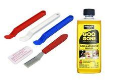 Scotty Peeler & 2oz Goo Gone Label Kit: Remove Adhesive Sticker Gum Tape Cleaner