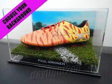 ✺Signed✺ PAUL SIRONEN Football Boot PROOF COA Wests Tigers Balmain 2018 Jersey