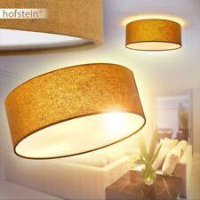 Plafonnier Lustre Lampe à suspension ronde Lampe de séjour Tissu marron 172870
