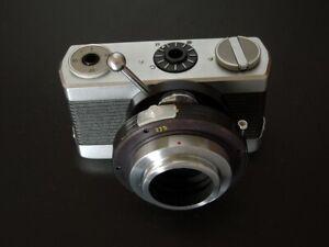 WERRA MICROSCOPE CAMERA  APPAREIL 35 mm par CARL ZEISS JENA 1960 Allemagne