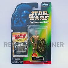 STAR WARS Kenner Hasbro Action Figure - POTF POTF2 - C-3PO (+Cargo Net Bespin)