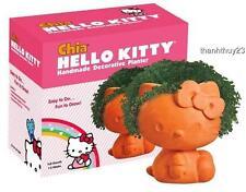 New Chia Hello Kitty Handmade Decorative Planter
