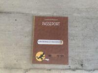 Passeport figurine Tintin n°15195. Archibald Haddock. Commune de Moulinsart.