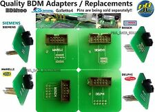 BDM ADAPTER SET of 4 ECU Programmer Chip Tuning BDM100 FG Tech Galletto4 CDM