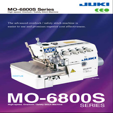 Juki MO-6814S Overlock Sewing Machine 4 Thread Head Only! NO Legs Table Motor