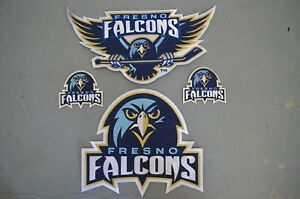 CHOICE of Fresno Falcons ECHL WCHL Throwback Hockey Jersey Jacket Patch Crest
