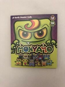 Box Buddies Monyamo - Pack of 12 Monster Paper Toy Cards