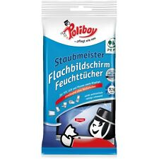 Poliboy Flachbildschirm Feuchttücher 30 Stck (0,10€/Stck.) Reiniger PC TV Handy