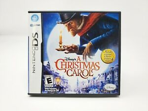A Christmas Carol  (Nintendo DS, 2009) NDS 3DS CIB Complete Authentic