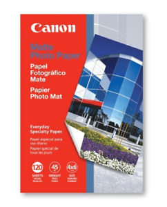 Canon MP-101 4-Inch x 6-Inch Matte Photo Paper 120 Sheets/Package