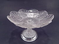 ANTICA ALZATA PASTICCERIA O FRUTTIERA CRISTALLO MADE IN ITALY ART CRYSTAL GLASS