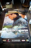 BROKEBACK MOUNTAIN 4x6 ft Bus Shelter D/S Movie Poster Original 2006