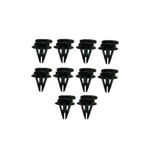 Set of 10 Clips for Door Sill Cover 07131480419 Fits: Mini Cooper 2002 - 2013