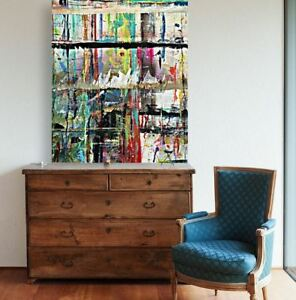 abstract-abstract-painting- WALL ARTS SCENERY  high quality Canvas home decor