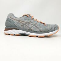 Asics Womens GT 3000 5 T756N Grey Orange Running Shoes Lace Up Low Top Size 10 D