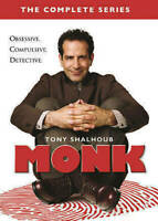 . Monk: The Complete Series seasons 1-8 (DVD, 2016, 32-Disc Set)