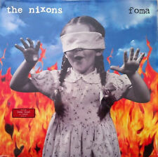 THE NIXONS Foma MCA RECORDS Sealed CLEAR VINYL Record LP
