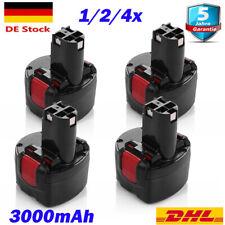 9.6Volt 3.0Ah AKKU Für Bosch BAT048 BAT100 BAT119 PSR 960 2607335461 9.6 VE-2 DE