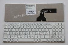 Norwegian Finnish Swedish Nordic Keyboard for Asus K53E K53SC K53SD X53E white