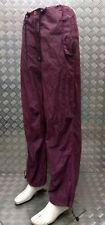 Jungle Streetwear Military Issue Lightweight Para Trousers Over Dyed Purple