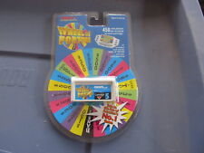 Wheel of Fortune Hand Held electronic game TIGER Cartridge #5 NEW SEALED
