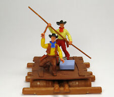 TIMPO TOYS   10x Halstuch DUNKELBLAUES  für Südstaatler Cowboys