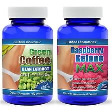 Pure  Green Coffee Bean Extract Cleanse Raspberry Ketone Lean Weight Loss Pills