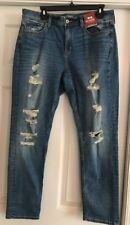 Arizona Women's Distressed Jeans Size 13 New with Tags