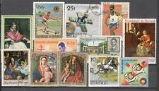 S1697 - BURUNDI 1973 - LOTTO DIFFERENTI TEMATICI - VEDI FOTO