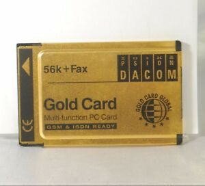 Psion DACOM 56k-Fax Gold Card No Cable S97-2517-2. Used