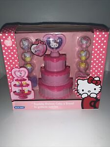 Hello Kitty Deluxe Cake N Stand Brand New Rare
