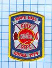 Fire Patch - White Hall Fire Dept. est 1979