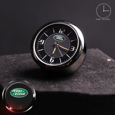 For LAND ROVER Luminous Car Quartz Clock Auto Refit Interior Kit Decor Ornaments