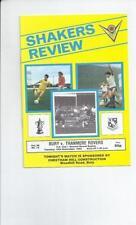 FA Cup Football League Fixture Programmes (1980-1992)