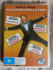 Chevy Chase Vacation Collection : National Lampoon's ~ DVD 2011 ~ 4 Disc Set ~R4