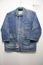 Giubbino Levi's imbottita (Cod.G588) Tg L jacket giacca jeans usato uomo