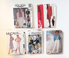 Ugly 80s Mixed Pattern Lot Multi 8-14 Suits Pants Skirts Dresses Big Shoulders