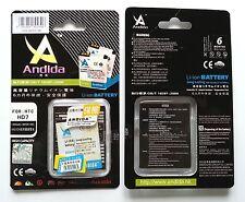 Batteria maggiorata originale ANDIDA compatibile Htc BD29100, BA-S460 da 1600mAh