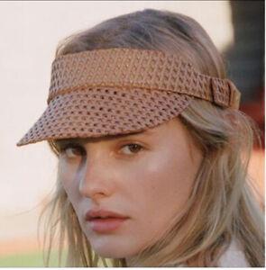 Leather Cap Sun Visor - Lack Of Color