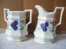 Vintage Henry Ford Museum Collection Creamer & Sugar Bowl by Iroquois Usa