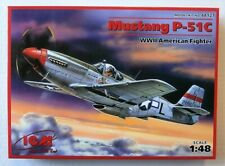NEW ICM (48121): North American P-51C Mustang au 1/48