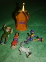 POLLY POCKET Tiny Collection HUNCHBACK of NOTRE DAME figures Character extra set