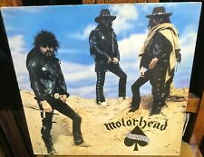 MOTORHEAD ace of spades 1980 UK BRONZE ORIGINAL STEREO VINYL LP