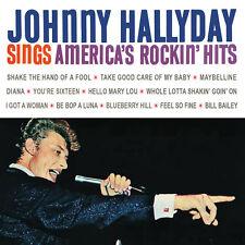 CD Johnny Hallyday sings America's rockin' hits