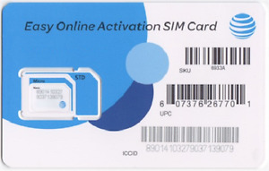 AT&T Prepaid SIM cards - Great for Travel to USA, Canada & Mexico