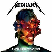 Metallica - Hardwired to Self Destruct 2 X CD Digipak 2016 BRAND 2cd