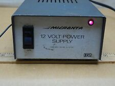 Micranta 12 Volt Power Supply For Old School Electronics