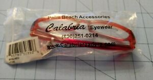 Palm Beach Accessories Calabria Eyewear +5.00 Reader Glasses Red Preowned