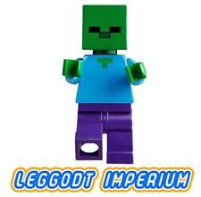 LEGO Minifigure - Zombie - Minecraft minifig min010 FREE POST